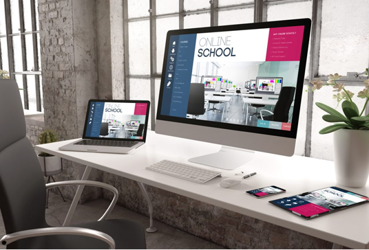 Elearning Website Design