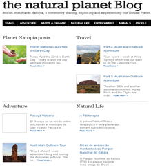 Planet Natopia – Integrating a Blog