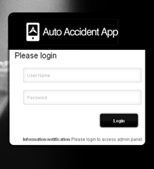 Registering Accident Details & Sending them Forth