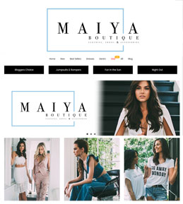 Development of a Magento 2 Website for Fashion Brand, USA – Maiya Boutique