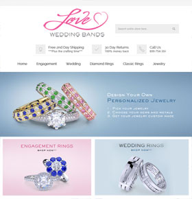 SynapseCo Portfolio - Magento Website Upgradation for Jewelry Industry in USA - LoveWeddingBands