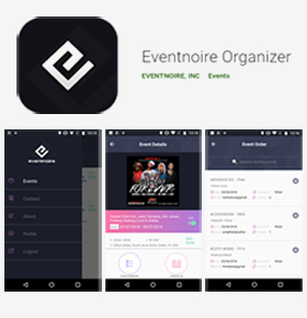 SynapseCo Portfolio - Hybrid App Development for Event Industry in USA - Eventnoire Organizer