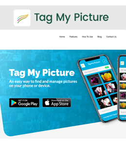 Redesigning a Website for Digital Media Company in USA – Tag My Picture