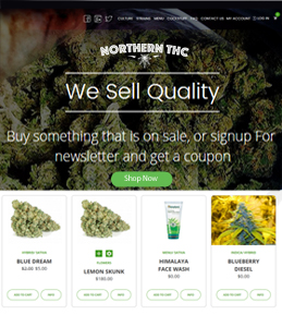 nopCommerce Store Development for Healthcare Industry, USA – Northern THC