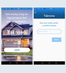 Hybrid Mobile App Development for Real Estate Industry, USA – Yaknowa