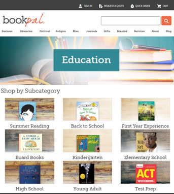 Ecommerce Website Development for Retail Industry 'BookPal' in Magento