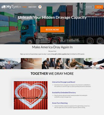 Website Development for Logistics Industry 'My Tyrn' in Laravel